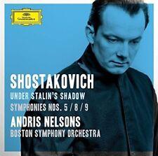 ANDRIS/BSO NELSONS - SCHOSTAKOWITSCH: SINFONIEN 5/8/9  2 CD NEUF SCHOSTAKOWITSCH