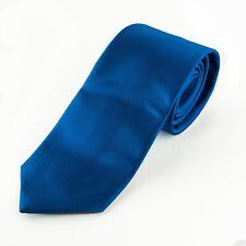 Corbata azul eléctrico, ideal para fiestas, eventos y marcar la diferencia