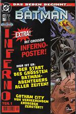 BATMAN (deutsch) # 40 ohne Poster - INFERNO  1- DINO VERLAG 1999 - TOP