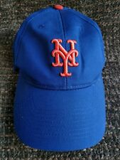 New York Mets blue and orange youth size adjustable Velcro ball cap
