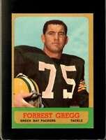 1963 TOPPS #89 FORREST GREGG EXMT PACKERS HOF  *XR21471