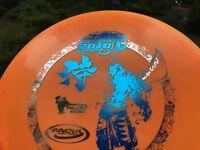 (FEEDMORE DONATION) Disc Golf Innova First Run Proto Katana OOP   Japan PDGA