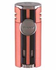 XiKAR 574OR HP4 Quad Flame Cigar Lighter Gift Box Warranty Chopper Orange