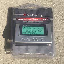 Radio Shack Caller ID/ Call Waiting ID Box Backlit Tilting Display 4303903