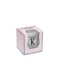 Miss and Mrs Fragranced Soy Wax Candles Alphabetic Votive Miss K