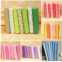 Pack Of Series 7 Assorted Pre-Cut Fat Quarters Bundle Floral Cotton Quilt Fabric