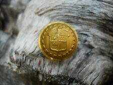 Old Rare Vintage Antique War Relic New York Officer Coat Button