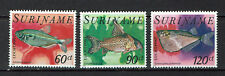 "SURINAM Republic 1978 #832-834 mnh ""FISH"" E475f"