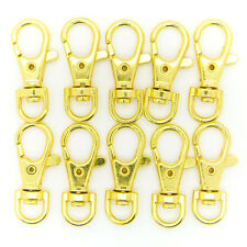 Lot of 1000 Metal Lanyard Hook Gold Swivel Snap For Paracord Lobster Clasp Clips