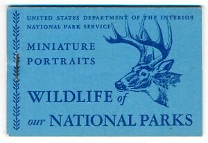 1940s United States National Park Service Wildlife Cinderella stamps FULL MNH