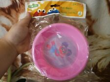 CLOSEOUT SALE! From USA! Sesame Street Fun Meals 2 Pk Pink BPA FREE #1
