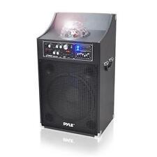 New PSUFM1230A 1000 Watt Disco Jam Powered Two-Way PA Speaker System USB/SD/AUX
