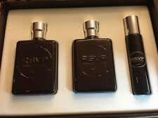 RSVP by Kenneth Cole 3 PCS GIFT SET MEN 3.4 oz 100 ML EDT Spray+3.4 A/S+1 oz EDT