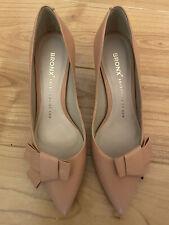 Pink Leather Shoes Size 5(UK)/ 38 (EU)