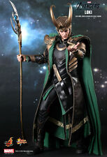 Hot Toys The Avengers Loki MMS176 1/6th Collectible Figure Tom Hiddles NEW US