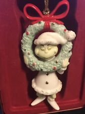 Lenox Grinch Dr Seuss Christmas Ornament Grinched For The Holidays VHTF