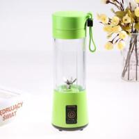 400ML Camping USB Electric Fruit Juicer Smoothie Maker Blender Shaker Cup Mug