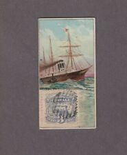 1889 N85 W.Duke Sons & Co. Postage Stamps Ocean Mail (Stamp Variation)