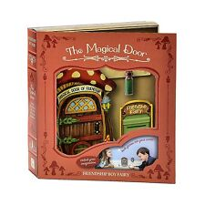 THE MAGICAL DOOR Friendship Boy Fairy Door, 3 Piece Gift Set, by Giftcraft