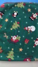 9f8ec5315 KOALA Baby 1st Christmas Green Santa Snowman Baby Blanket GUC