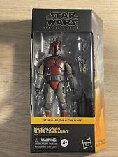 Star Wars - Black Series -( MANDALORIAN SUPER COMMANDO )- Walmart Figure