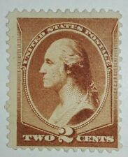 TRAVELSTAMPS: 1881-82 US Stamps Scott # 210, Washington, mint, no gum, unused