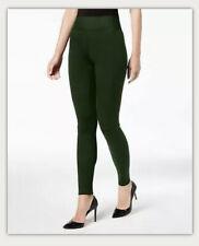 INC International Concepts Womens Small Fashion Smoothing Leggings Hunter Green