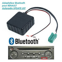 For Renault AUX Bluetooth Audio Module Cable Wire Cord Connector Adapter Device
