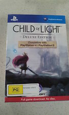Child Of Light Deluxe Edition PS4 & PS3 (NEW)