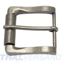 Gürtelschnalle 40mm Zinkdruckguss Nickel antik SCHNALLE SCHNALLEN