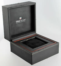 Tag Heuer Inner and outer Watch Box  Square Storage Travel Display & Pillow #264