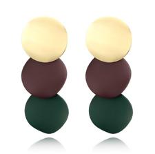 Fashion Women Statement Boho Alloy Geometric Big Dangle Drop Earring Xmas Gift