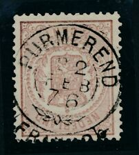NR. 13  PRACHT EX.  MET VOLLEDIG FRANCO TAKJE PURMEREND 22 FEB 76 Zk246
