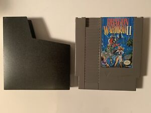 Dragon Warrior II 2 NES Nintendo, Cleaned & Tested Battery Saves Authentic!!!