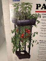 Flambeau Compact Upside-Down Patio Garden Fruit Vegetables Topsy Turvy