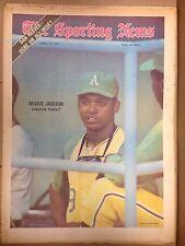 The Sporting News: REGGIE JACKSON Comeback Clouter? APRIL 17, 1971