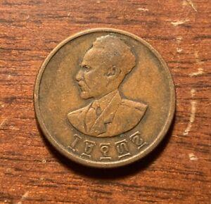 1944 Ethiopia 10 cents