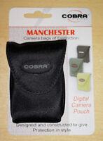 Cobra Camera Pouch - Black Small Carry Case For Digital Camera