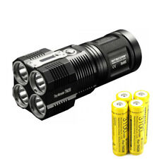 Nitecore TM28 4*Cree XHP35 HI LEDs 6000 lumens Outdoor hunting LED Flashlight