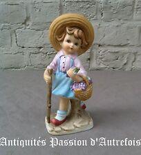 B2017404 - Figurine en biscuit de porcelaine - 19 cm - 1950 - 1970