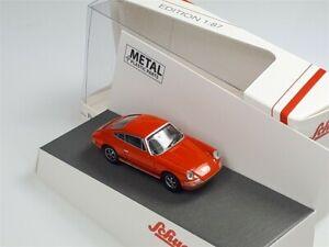 PORSCHE 911S 1970 Orange - 1/87 - SCHUCO