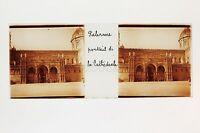 Palermo Cattedrale Italia Placca Da Lente Stereo Positive Ca 1905