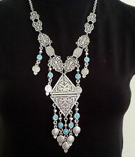 Turkish Made Silver Plated Necklace S1495M