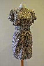 """Twenty8Twelve """"Ledoyen"""" Leopard Print Silk Dress, Uk Size 8"""