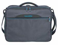 travelite CrossLITE Combi Bag Umhängetasche Reisetasche Tasche Grau Blau Neu
