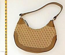Dooney & Bourke Signature Canvas Handbag w/ Leather Trim