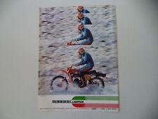 advertising Pubblicità 1977 MOTO LAVERDA 125 LH REGOLARITA'