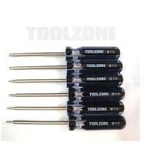 6 Stück Torx (TX (Stern) Schraubendreher Satz (Hand-Werkzeug)