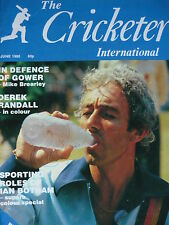 THE CRICKETER INTERNATIONAL JUNE 1980 - IAN BOTHAM/DAVID GOWER