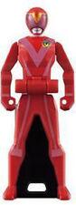 Power Rangers Sentai Legend 5 Mini Key Figure Aka Red Boukenger Ver Ranger